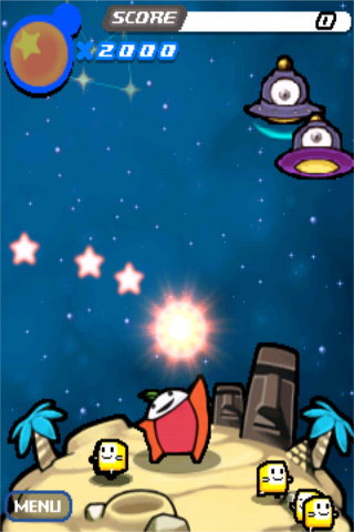 Screenshot Cosmic Star