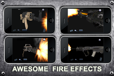 Screenshot 3D Perfect Guns│24 3D Guns!
